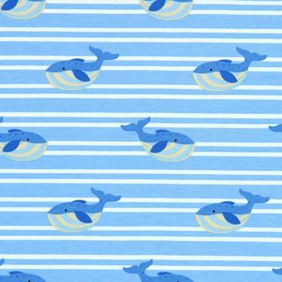 Jersey Dikke walvis – lichtblauw
