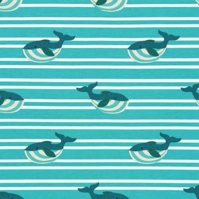 Jersey Dikke walvis – turkoois