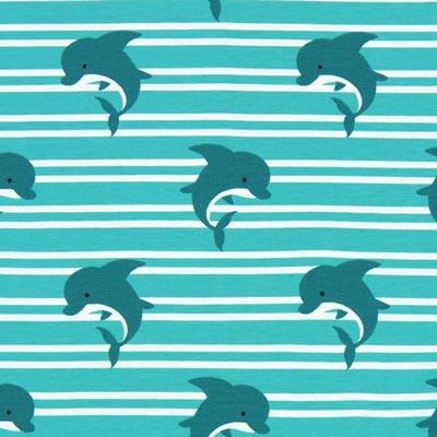 Jersey Dolfijnen – turkoois