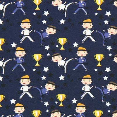 Jersey Karatemeester – marineblauw