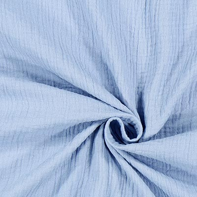 Muslin Plain 10 – light blue