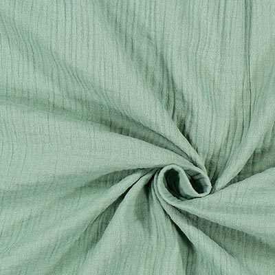 Muslin uni 8 – mildgrönt