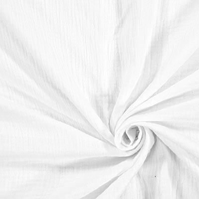 Muslin Plain 1 – white