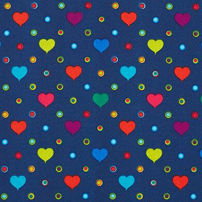 Softshell bonte harten 3 – blauw