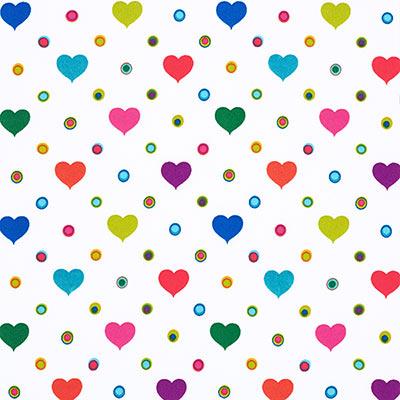 Softshell bonte harten 1 – wit