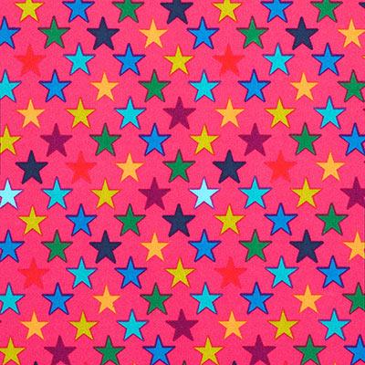 Softshell bonte sterren 2 – pink