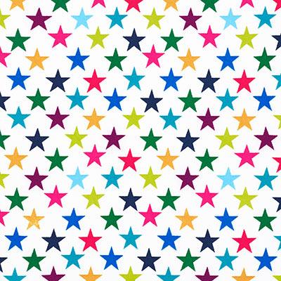Softshell bonte sterren 1 – wit