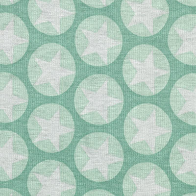 Alpenfleece Stars 2 – mintgroen
