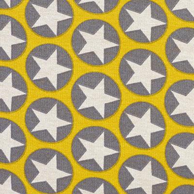 Alpenfleece Stars 3 – lichtgeel