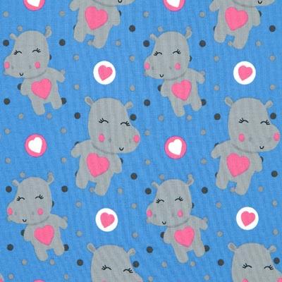 Jersey nijlpaard 4 – blauw