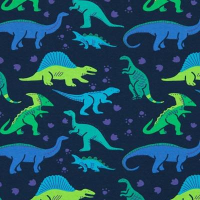 Jersey dinosaurussen park 4 – blauw