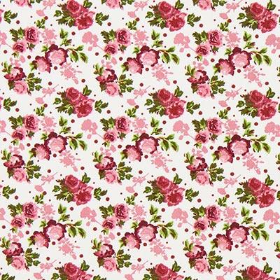 Tela de algodón Rosas 4 – rojo