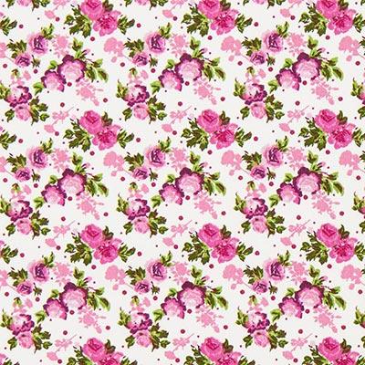 Tela de algodón Rosas 1 – lila