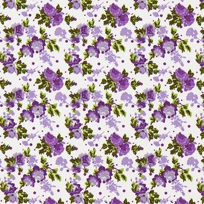 Tela de algodón Rosas 3 – lila