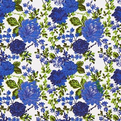 Tela de algodón Rosas Salzburg 4 – azul