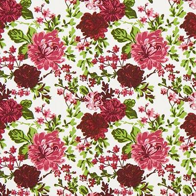 Tela de algodón Rosas Salzburg 2 – rojo