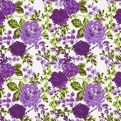 Tela de algodón Rosas Salzburg 3 – lila
