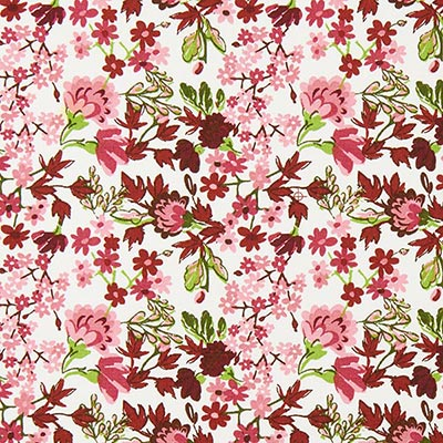Tela de algodón Rosas Vienna 2 – rojo