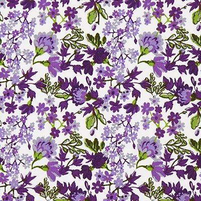 Tela de algodón Rosas  Vienna 3 – lila