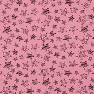 Mousseline sterren 4 – oudroze