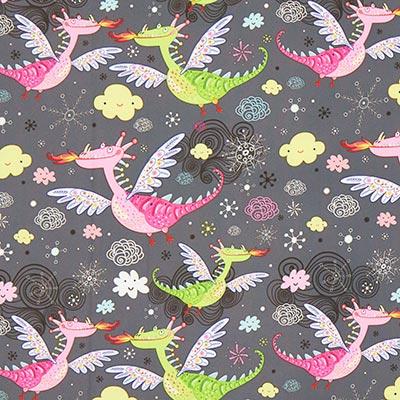 Softshell happy dragons – leigrijs