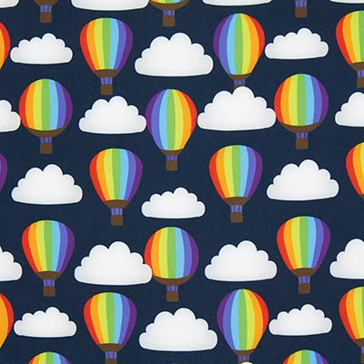 Softshell regenbogen-heteluchtballonnen –