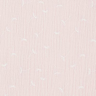 Muslin/ Double Gauze Dandelions 3 – light pink