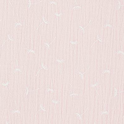 Muslin/ Dubbel-krinkelväv Maskrosor 3 – ljusrosa