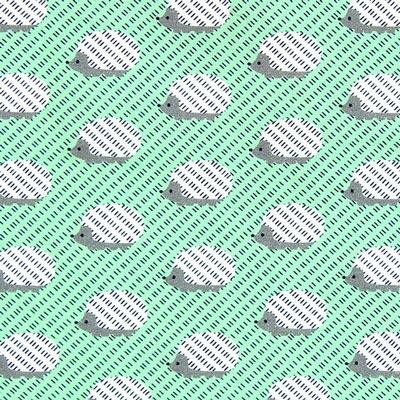 Jersey Egel – mintgroen