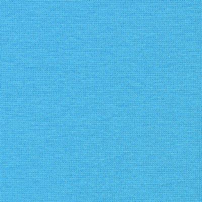 Strickbündchen 1x1 Rippe 2 - türkisblau