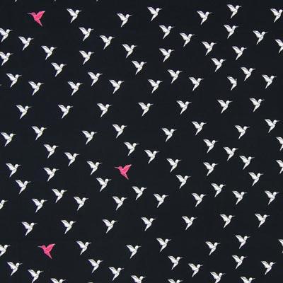 Popeline Origami Colibri