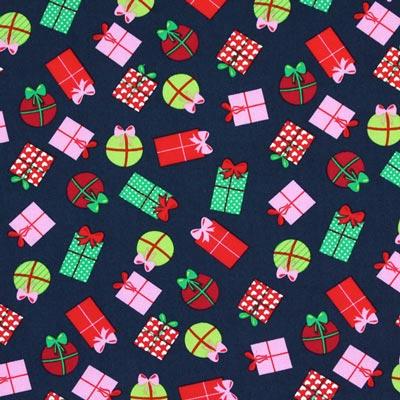 Baumwollstoff Weihnachtsgeschenke 1