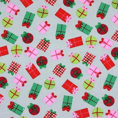 Baumwollstoff Weihnachtsgeschenke 2