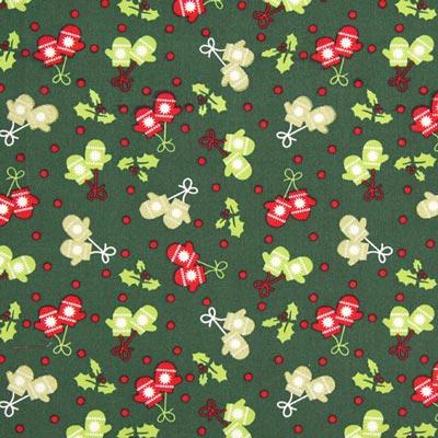 Baumwollstoff Weihnachtshandschuh 3