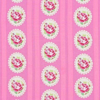 Cotton Flower Stripes 2