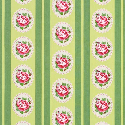Cotton Flower Stripes 3