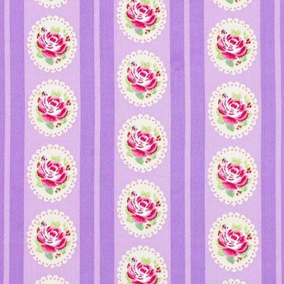 Cotton Flower Stripes 4
