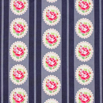 Cotton Flower Stripes 6