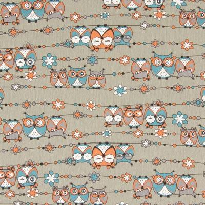 Jeans Owl on a Thread 2