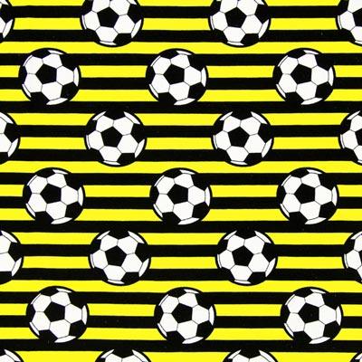 Single Jersey Voetbal – geel