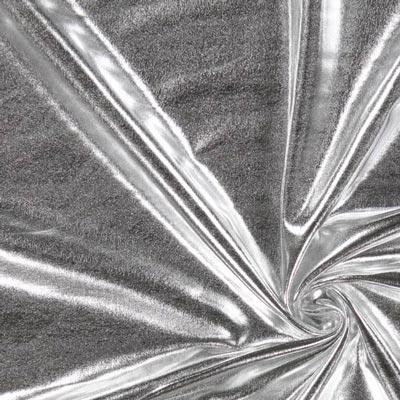 Folien Jersey 2 - silber