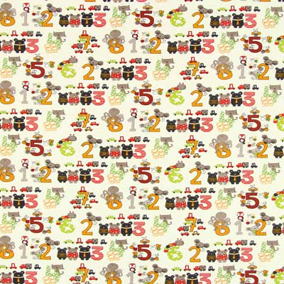 Jersey Getallen-dieren 1 – ecru