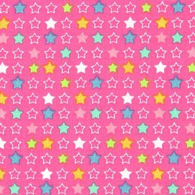 Cretonne ster Constella 3 – pink