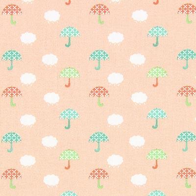 Cretonne parapluutje 1 – roze