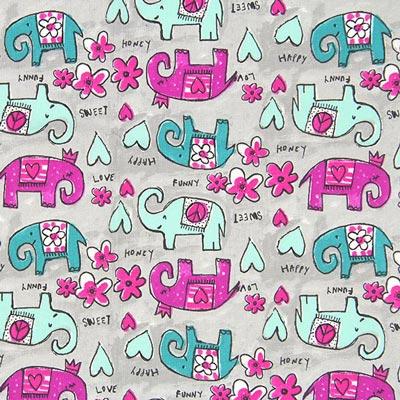Cretonne olifant Grabo 2 – grijs