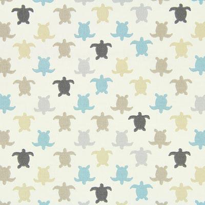 Cretonne schildpad Hermann 1 – blauw
