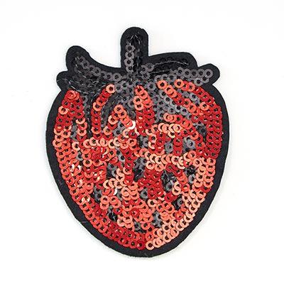 Patch Strawberry (5,7 x 7,2 cm) – red
