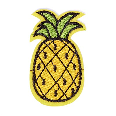 Patch Pineapple (3,5 x 5,7 cm) – yellow