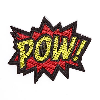 Patch POW ! 1 (8.3 x 6.8 cm)
