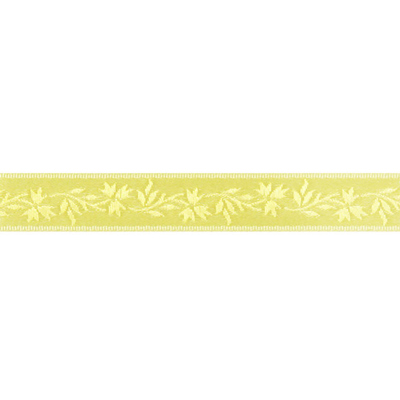 New arrivals: elegant satin ribbons with flower tendrils